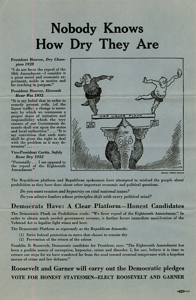 VCU_M 9 Box 243 f Elections and Voting_1932 presidental election handbill 18th amend rsz.jpg