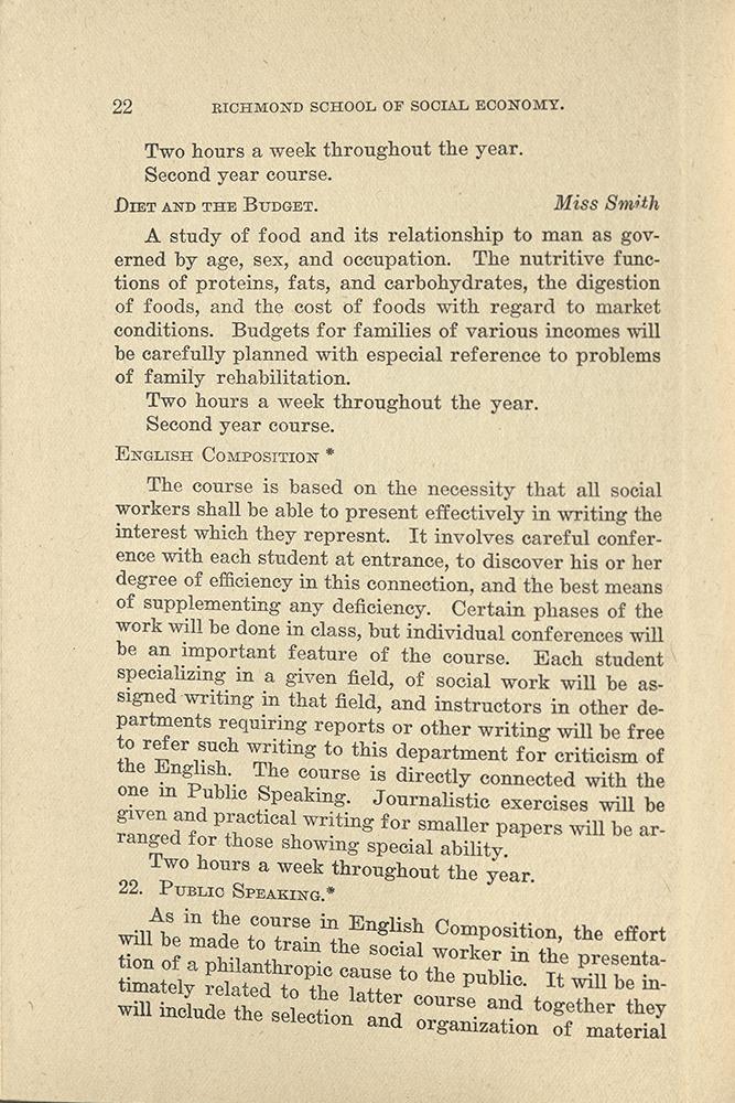 VCU_Richmond SSE First Annual Announcement 1917-18 p22.jpg