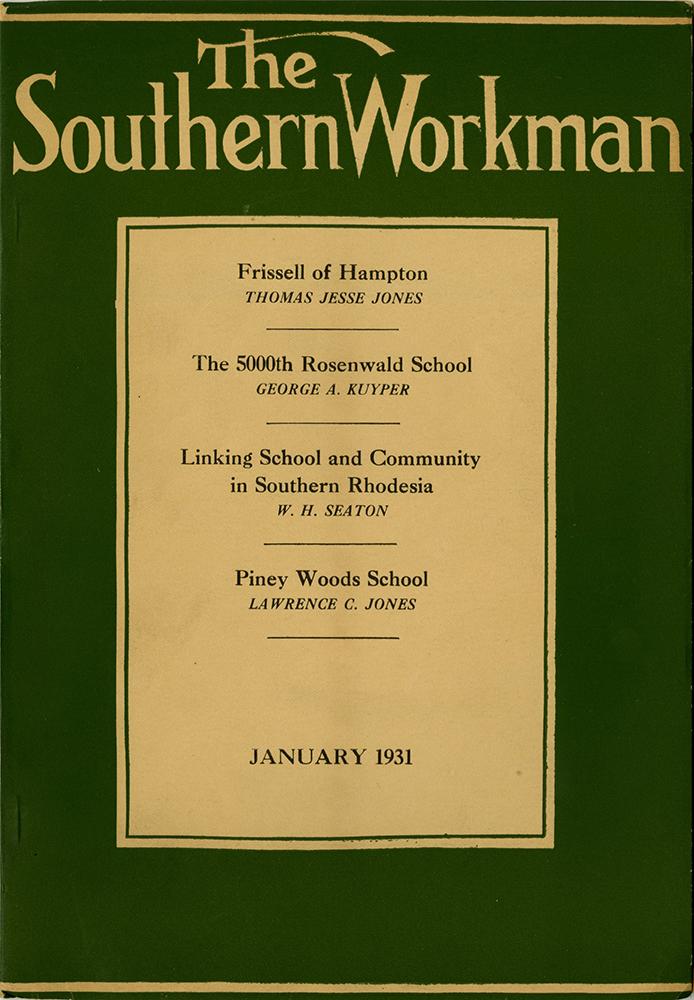 VCU_Southern Workman_LC 2701_S7 v60 n1 1931 Jan cover rsz.jpg