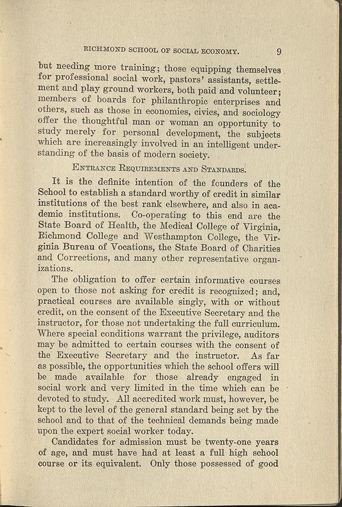 VCU_Richmond SSE First Annual Announcement 1917-18 requirements p9 rsz.jpg