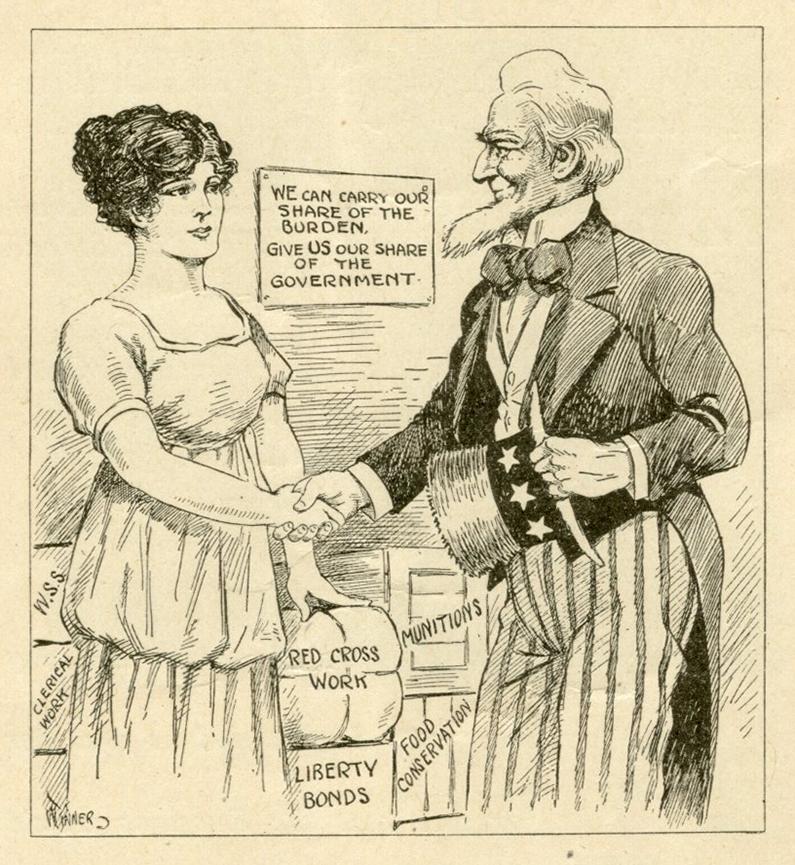 Woman Citizen April 20 1918  Chas H Winner cartoon p416 rsz.jpg