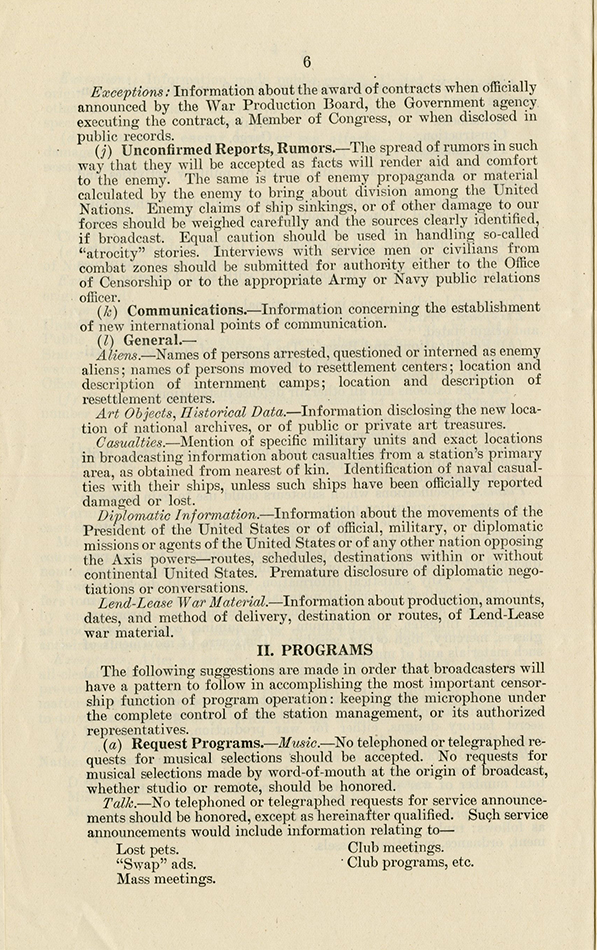 VCU_M172 B5 Radio Speech Material 1937_46 Code of Wartime Practices p6 rsz.jpg