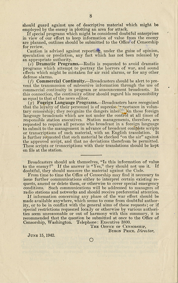 VCU_M172 B5 Radio Speech Material 1937_46 Code of Wartime Practices p8 rsz.jpg