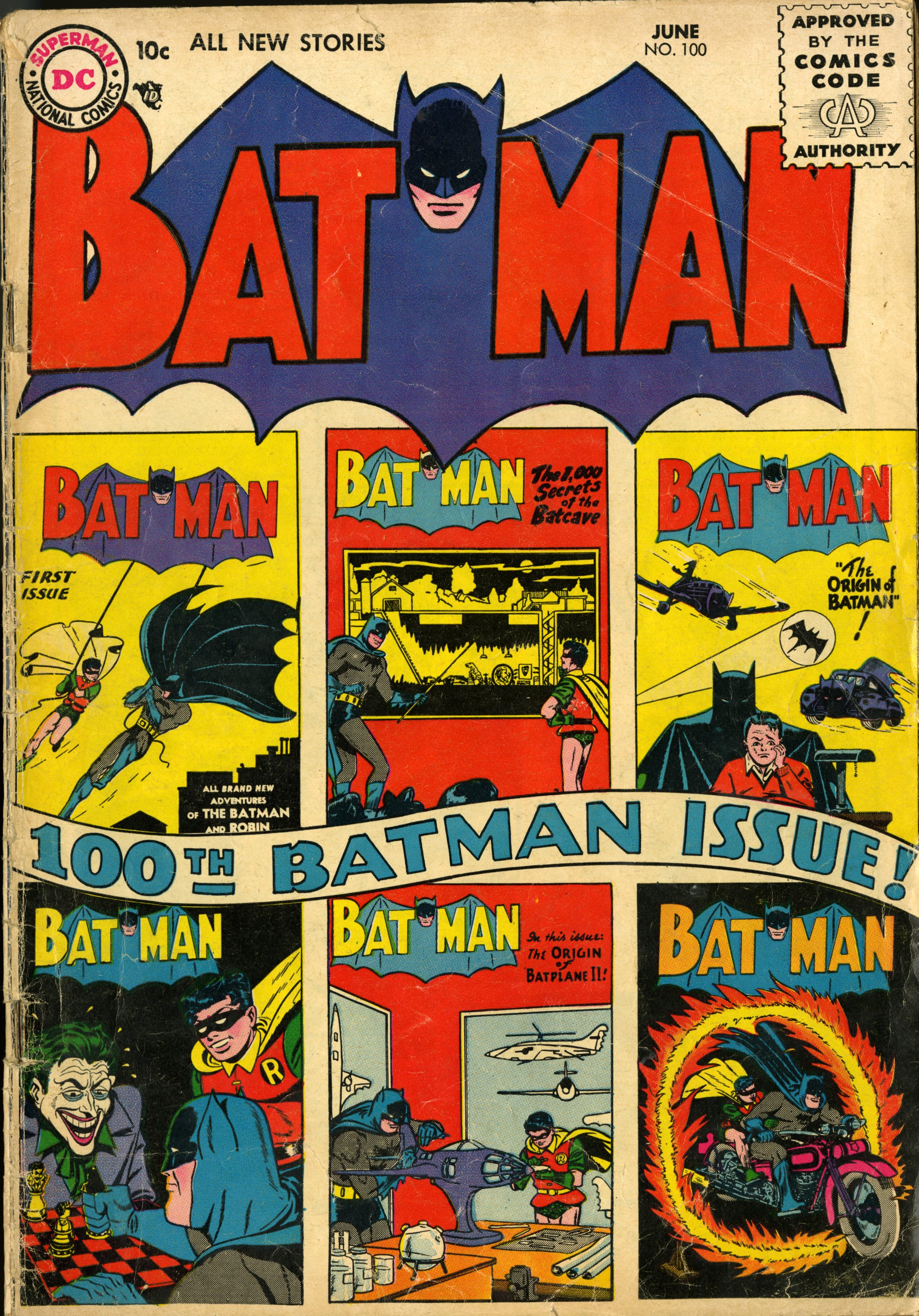 Batman no 100 June 1956.jpg