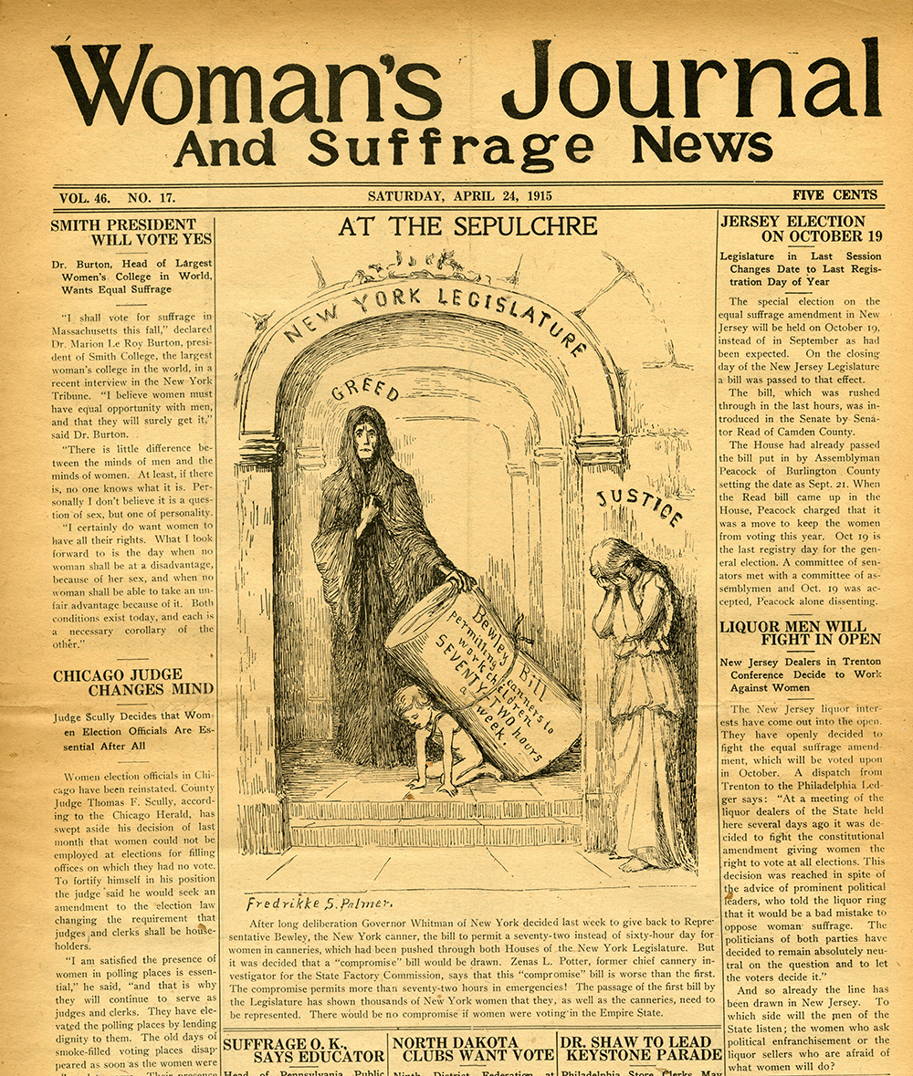 VCU_M9 Box 229 Womans Journal and Suffrage News Oct 23 1915 front rsz.jpg