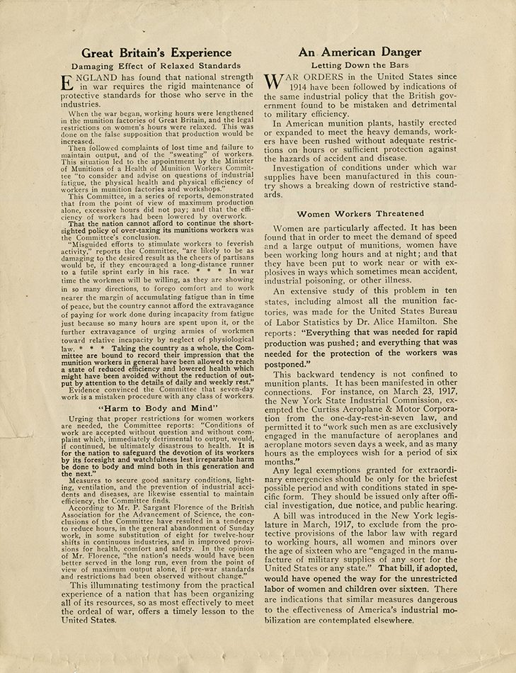 M 9 Box 98 Labor Laws in War Time_AALL Special Bulletin p2 rsz.jpg