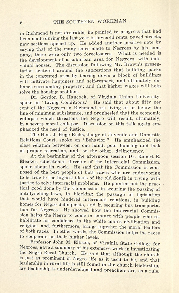 VCU_Southern Workman Jan 1931_Conference on race relations p6 rsz.jpg