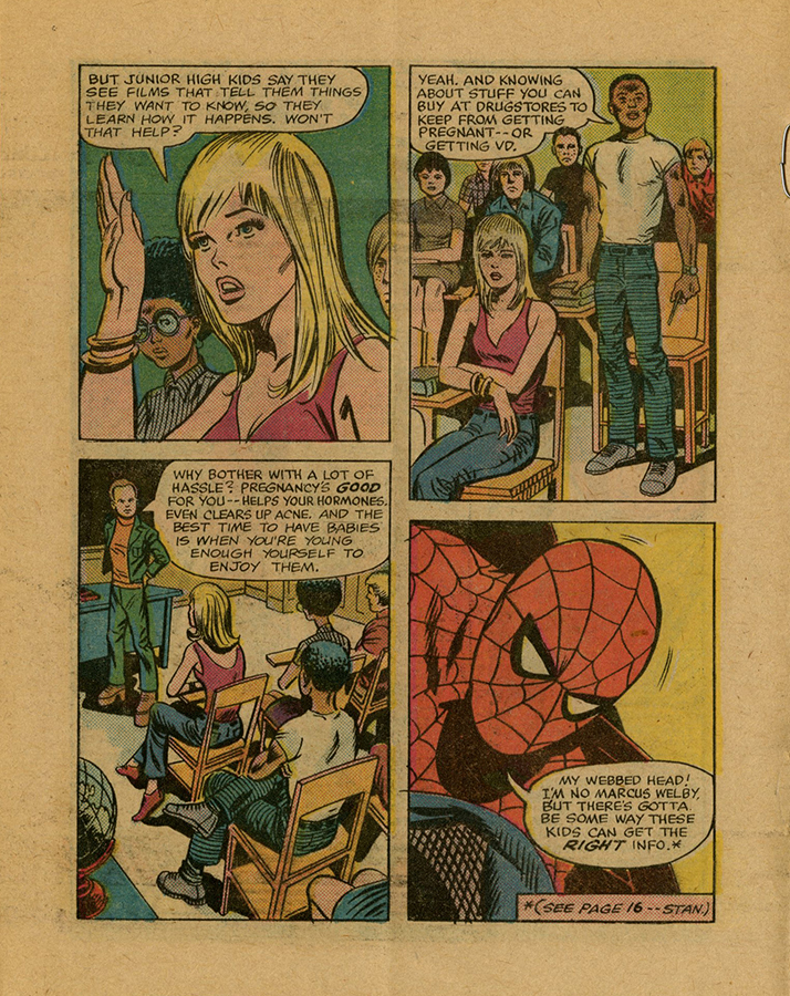 VCU_Spider Man_Planned Parenthood comic in classroom rsz.jpg
