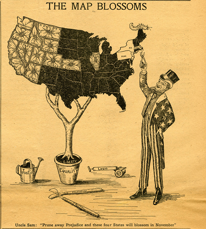 M9 Box 229 Womans Journal and Suffrage News May 22 1915_B Ames cartoon rsz.jpg