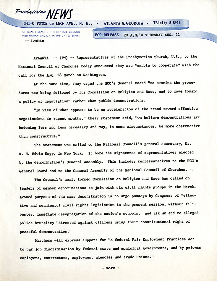 Union PSem_Press Release PCUS Aug 22 1963_p1_MarchWash051 rsz.jpg