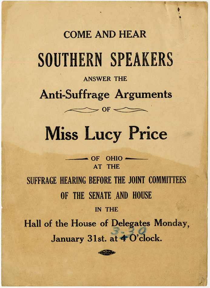 VCU_M9 B233  Southern Speakers Answer Miss Lucy Price rsz.jpg