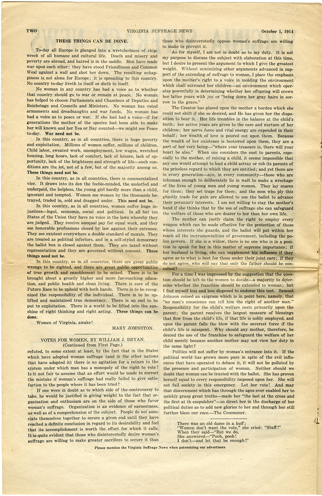 VCU_M9 B56 Virginia Suffrage News Oct 1 1914 p2 rsz.jpg