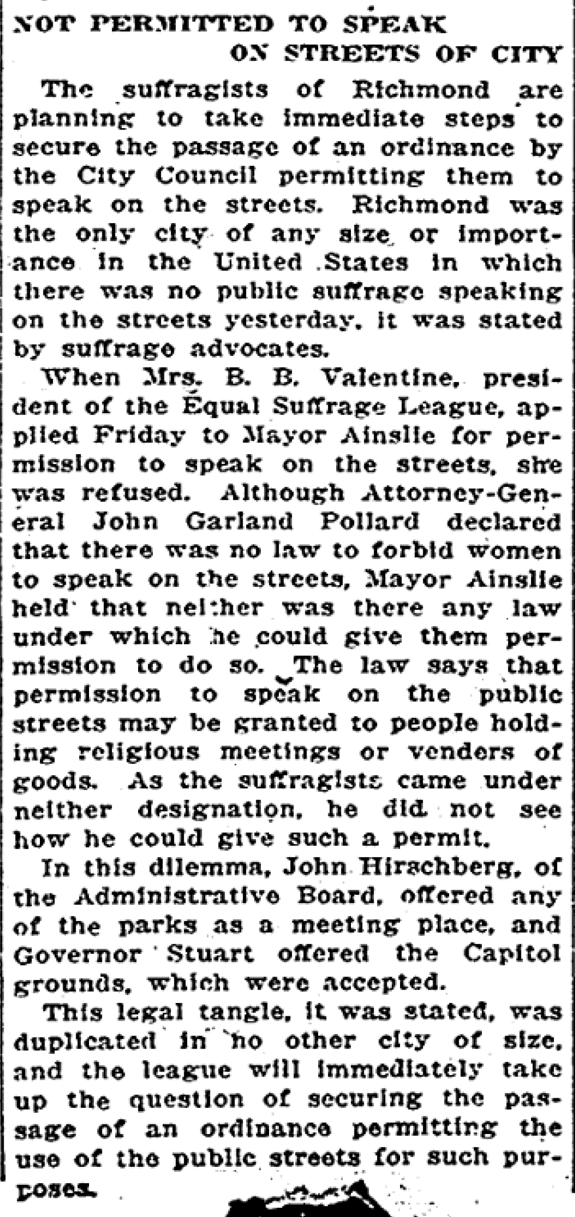 Denied Use of Streets Richmond_Times-Dispatch___May_2_1915__p1 clip.jpg