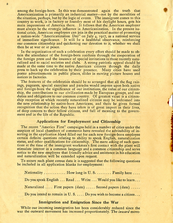 M 9 B 48_Bulletin No 8_Immigration Committee_Chamber of Commerce USA_3_1_1917 p2 rsz.jpg