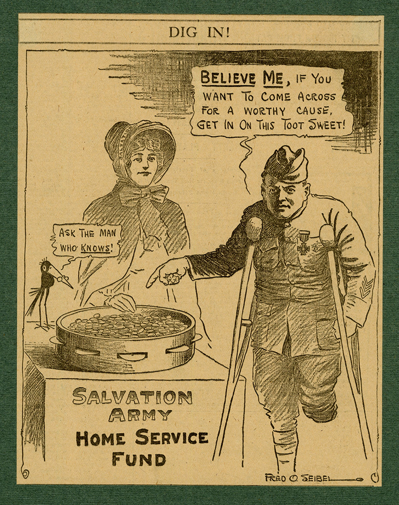 VCU_M 23 Box 2 f knickerbocker press May 1919 no 741 Salvation Army Home Service fund rsz.jpg