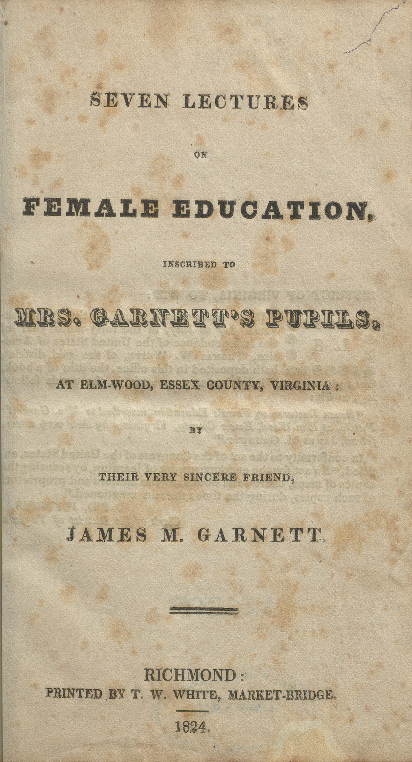 UMW_Seven Lectures on Female_Education title page.jpg