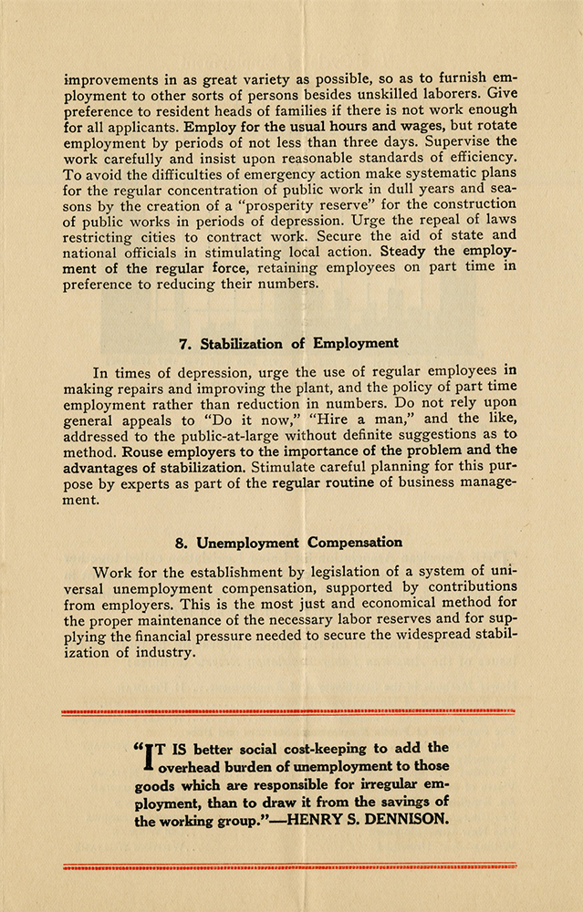 M 9 Box 98 AALL Standard Recommendations for the Relief of Unemployment p4 rsz.jpg