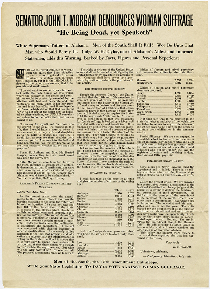 VCU_M 9 Box 51 Anti Suffrage J T Morgan Denounces Woman Suffrage rsz.jpg