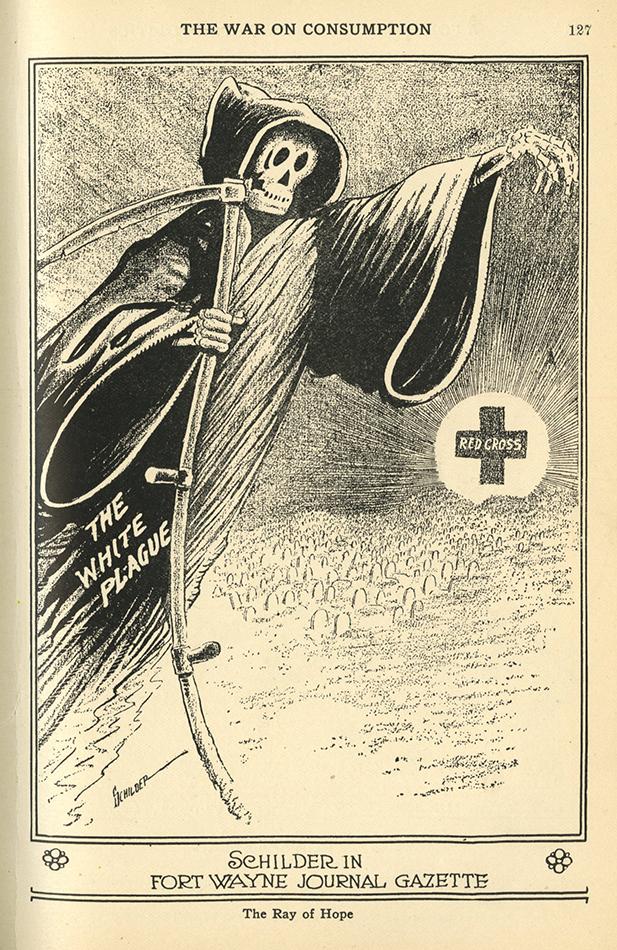 VCU_NC 1300_C37 v5 n2 Feb 1914 Edgar F Schilder White Plague p127 rsz.jpg