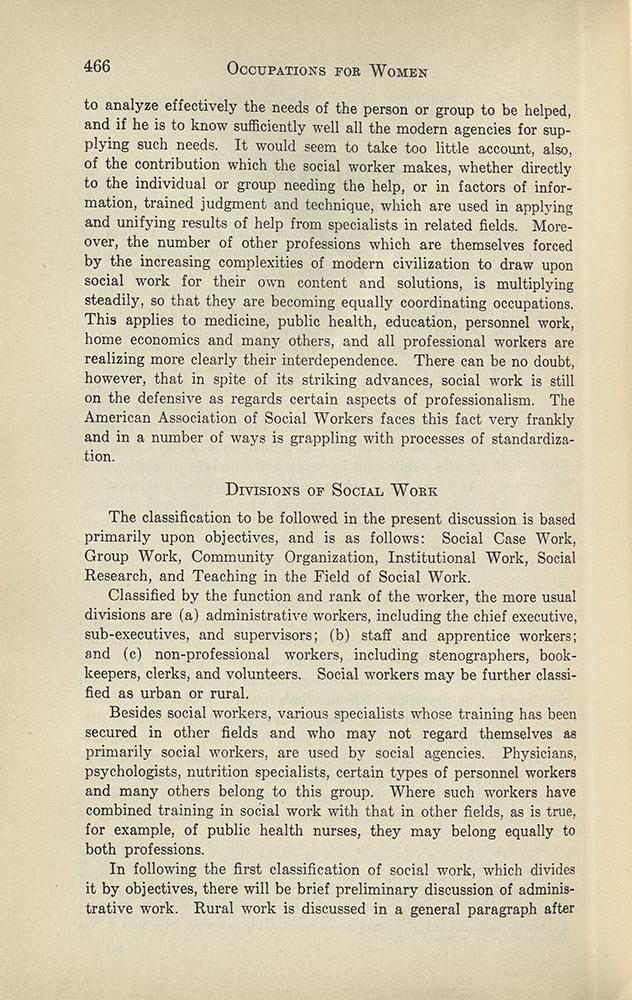VCU_HD 6058_H37 1927 Occupations for Women Hatcher Soc Wk p466 rsz.jpg