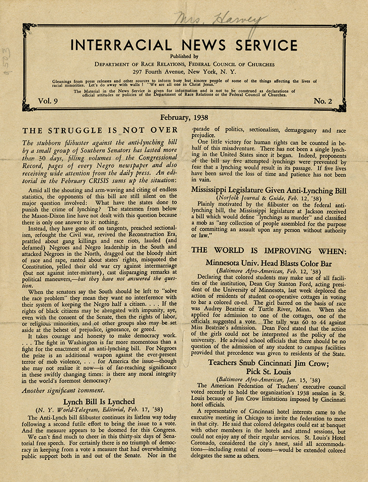 VCU_Interracial News Service v9 n2 Feb 1938 p1 rsz.jpg