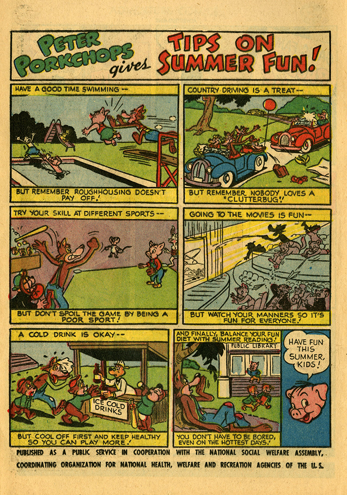 Adventure Comics 203 August 1954 Peter Porkchops gives tips on summer fun rsz.jpg