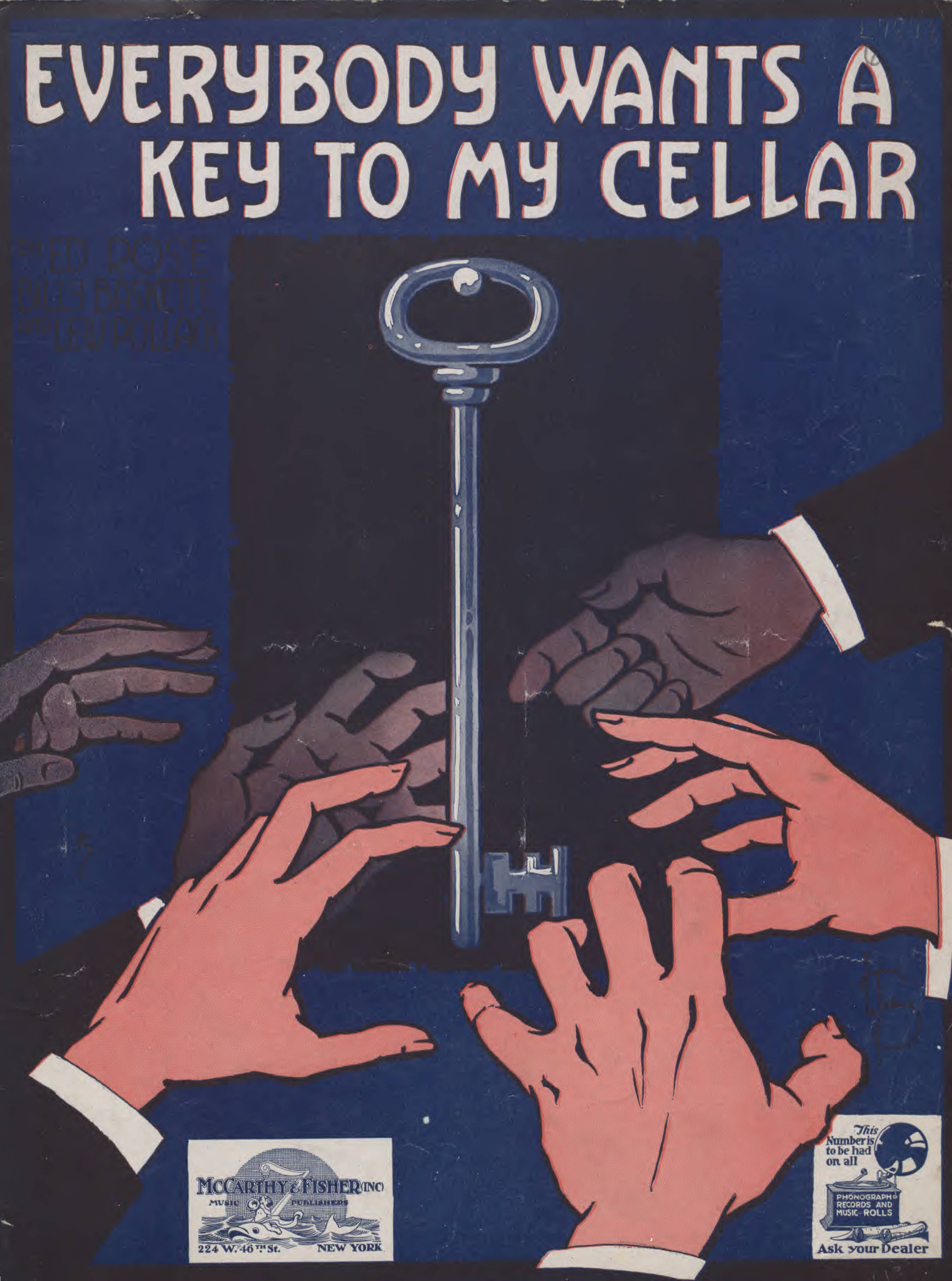 Baylor Univ Libraries_Everybody wants a key to my cellar.jpg