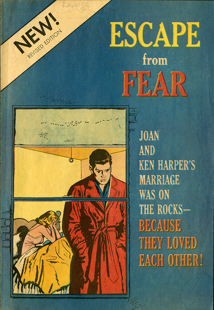 VCU_M333 Box 1 Escape from Fear Planned Parenthood  Federation of America Publications 1962 cover rsz.jpg