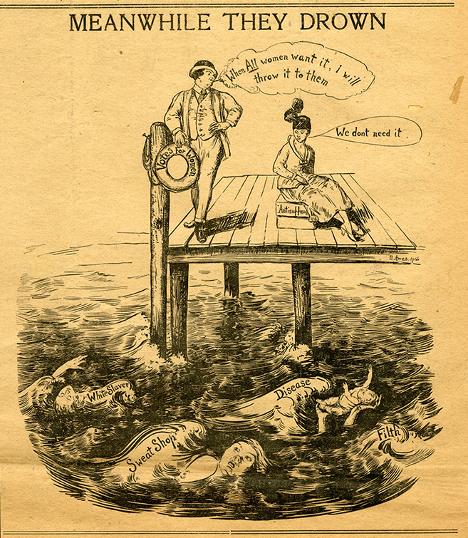 M 9 Box 229 Womans Journal and Suffrage News June 5 1915_B Ames cartoon.jpg