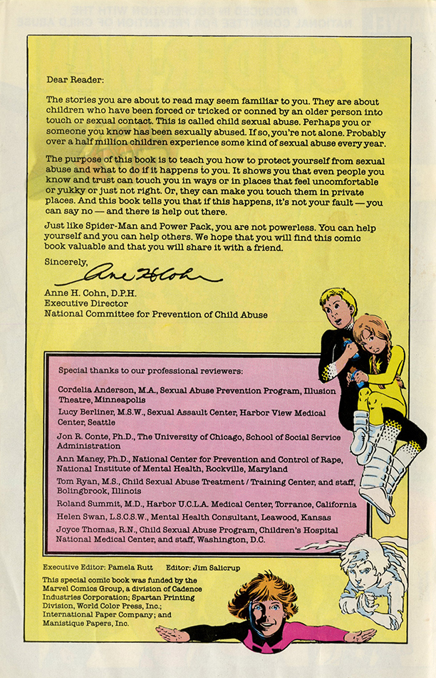 VCU_Spider Man and Power Pack NCPCA letter inside cover rsz.jpg