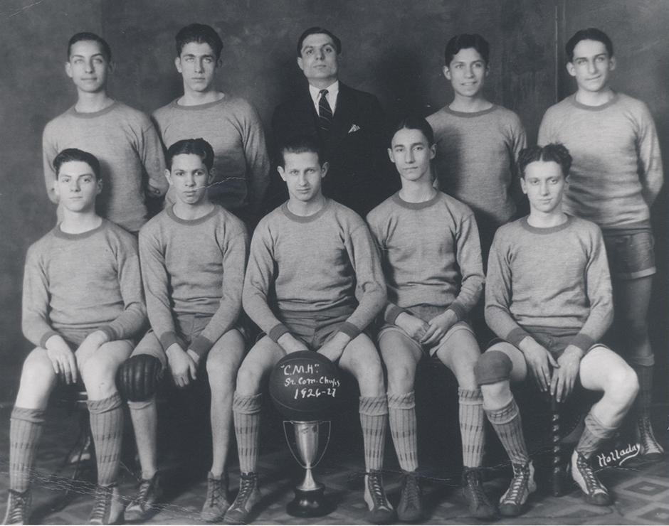 Beth Ahabah_NCJW Collection_Neighborhood House Boys Basketball Team  1926-1927 rsz.jpg