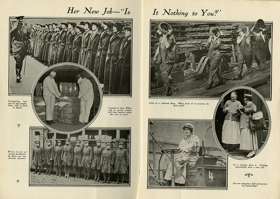 Association Monthly Feb 1918 Her New Job photo spread rsz.jpg