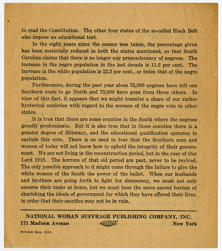 M9 Box 49 The Negro vote in the south NWSA flyer reverse rsz.jpg