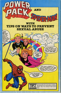 Spider-Man and Power Pack [National Committee for Prevention of Child Abuse comic book]