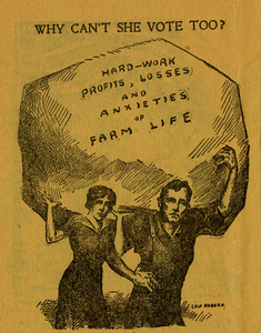 Why Should Women Vote? An Appeal to Gallant Men. [suffrage pamphlet]