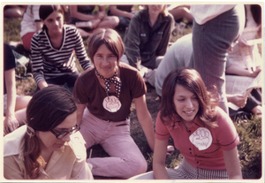 Mary Washington College Students Participate in the Strike Against the Expansion of the Vietnam War