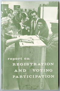 Report of the President's Commission on Registration and Voting Participation, November 1963