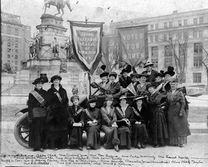 Equal Suffrage League of Richmond, Va., February, 1915