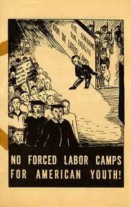 No Forced Labor Camps for American Youth! [American Student Union pamphlet]