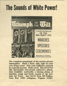 White Power. The Newspaper of White Revolution, No. 24, February 1972 [National Socialist White Peoples Party publication]
