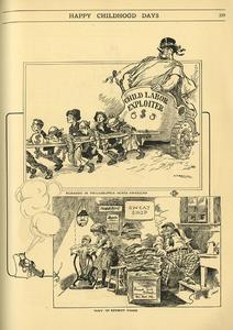 Happy Childhood Days [child labor cartoons]