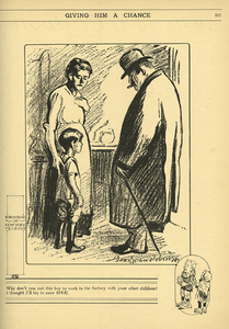 VCU_Cartoons Mag_NC 1300_C37 v3 n2 Feb 1913 p103 Giving Him a Chance rsz.jpg