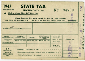 M68 Box 11 Edward H Peeples papers_Poll Tax 1948 bill alt rsz.jpg