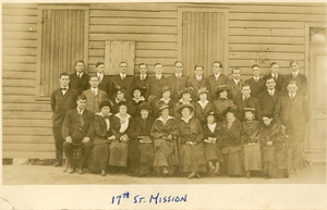 Volunteer staff, Seventeenth Street Mission, 1915