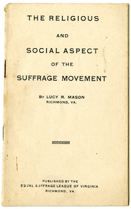 Religious and Social Aspect of the Suffrage Movement