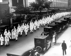 Ku Klux Klan Parade in Richmond, Va.,