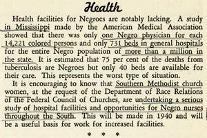 Interracial News Service, vol. 11, no. 1. January 1940