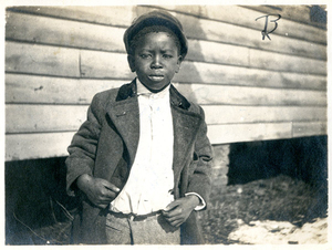 Young boy, Seventeenth Street Mission, Richmond, VA