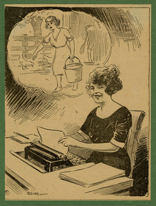 VCU_M 23 Box 3 Seibel Working Woman Cartoon no 1503 date 1922 crop rsz.jpg