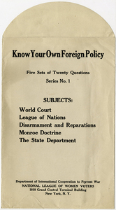 M 86 Box 1 Know Your Own Foreign Policy packet rsz.jpg